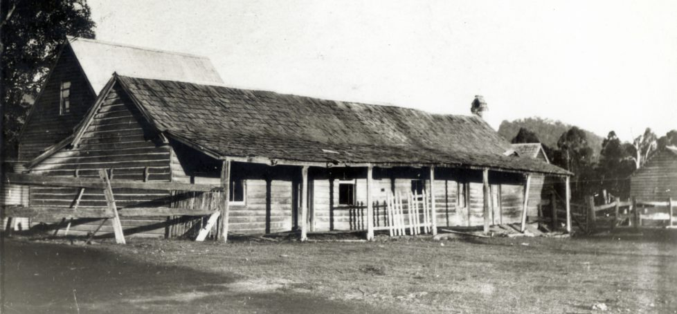 Bankfoot House and Grigor family, Glasshouse Mountains